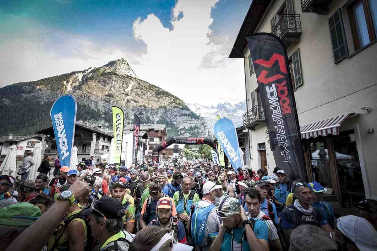 Start line Gran Trail Courmayeur